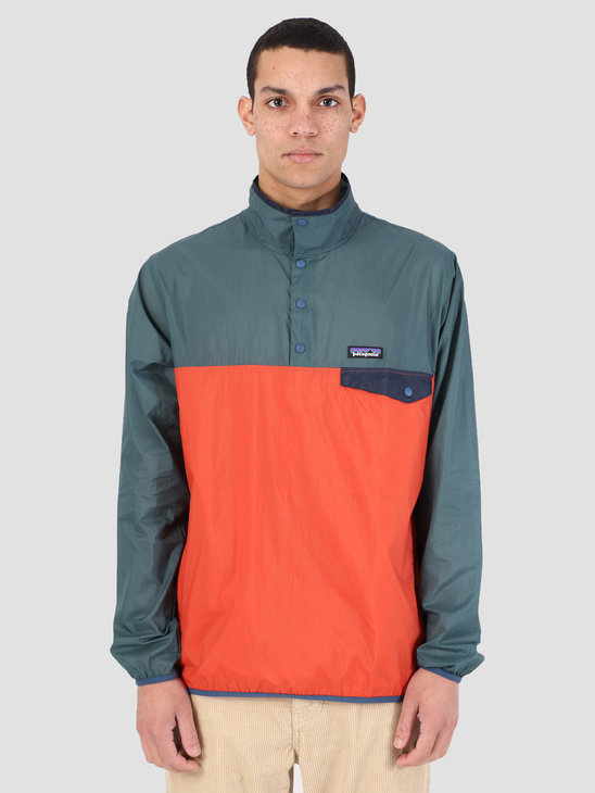 Patagonia Houdini Snap T Anorak Sunset Orange 24150