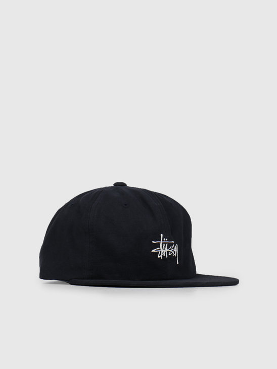 Stussy Washed Oxford Strapback Cap Navy 0806