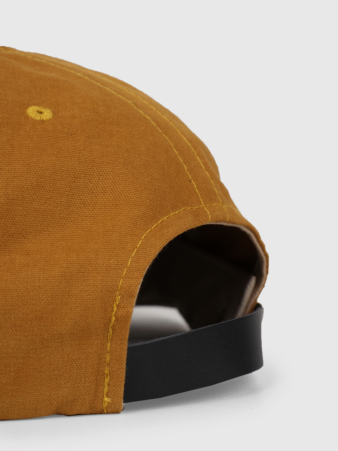 Stussy Stussy Washed Oxford Strapback Cap Mustard 0203