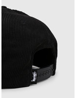 Stussy Stussy Washed Cord Cap Black 0001