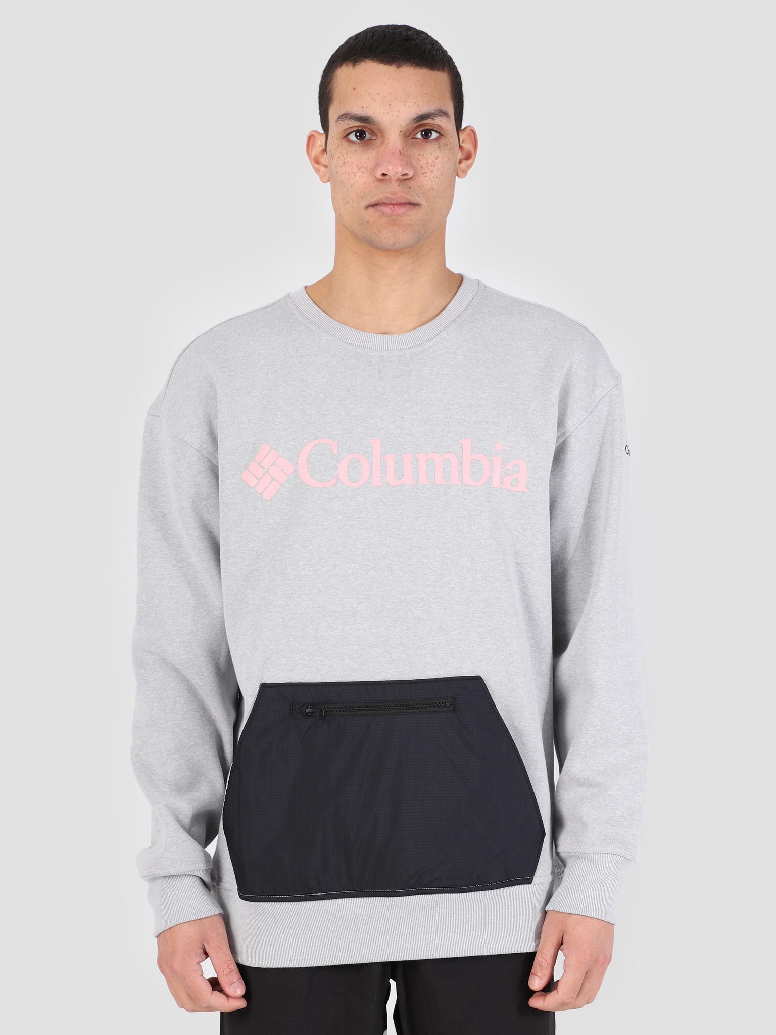 Columbia Columbia Fremont Crew Columbia Grey H 1869081039