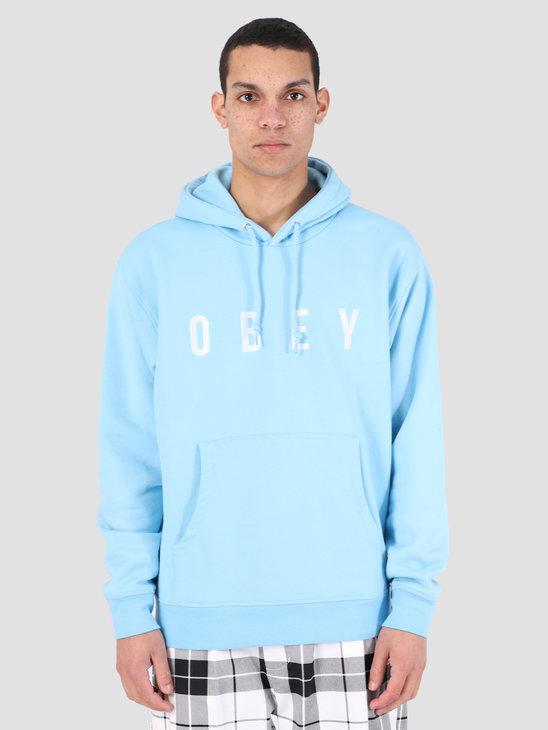 Obey Way Hood BLU 112470050