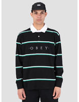 Obey Obey Washer Claic Polo Longsleeve BKM 131040017