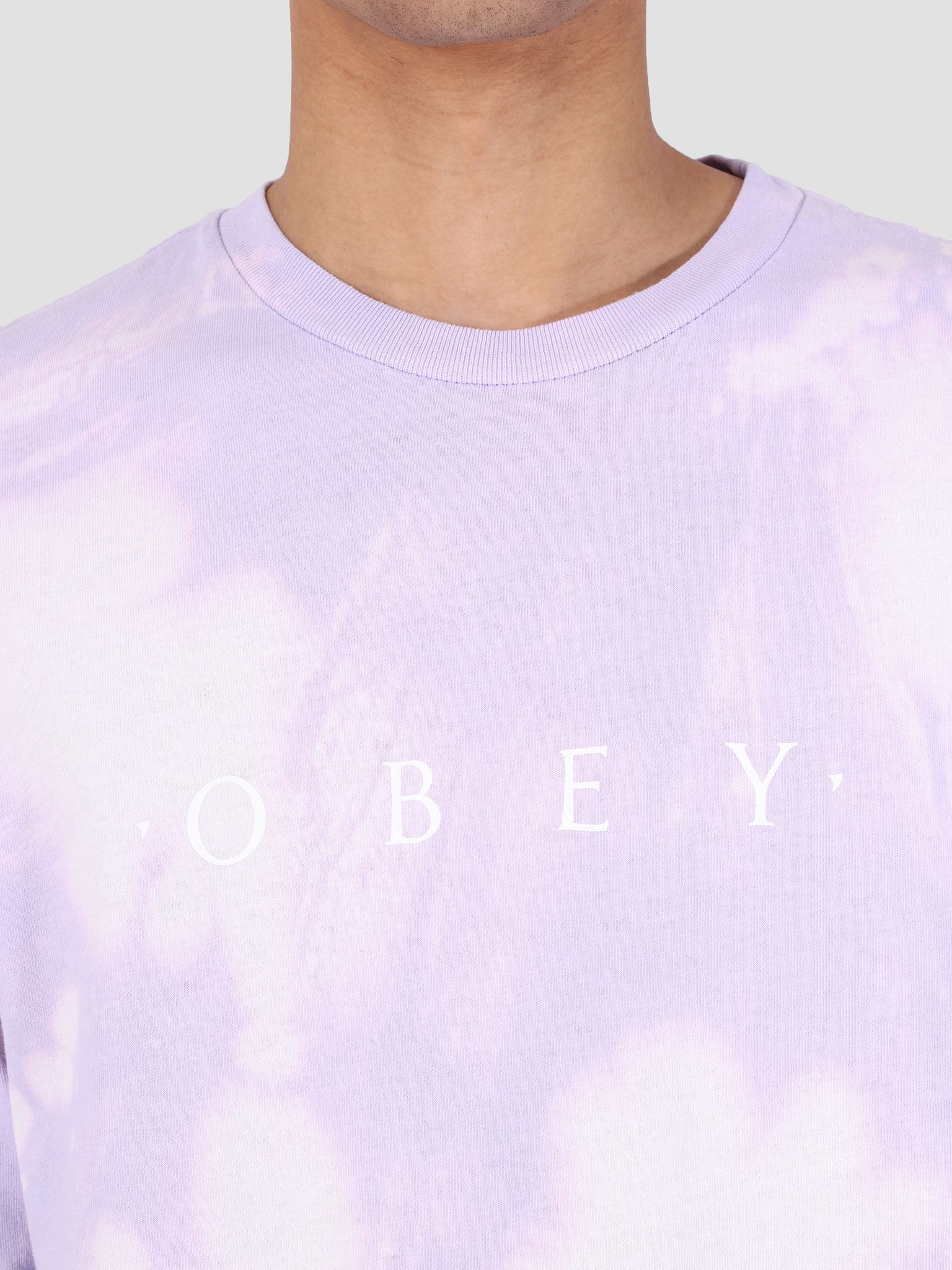 Obey Obey Novel Obey Tie Dye Longsleeve LAV 166751578