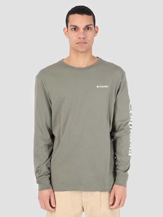 Columbia North Cascades Longsleeve Cypress White 1834021316