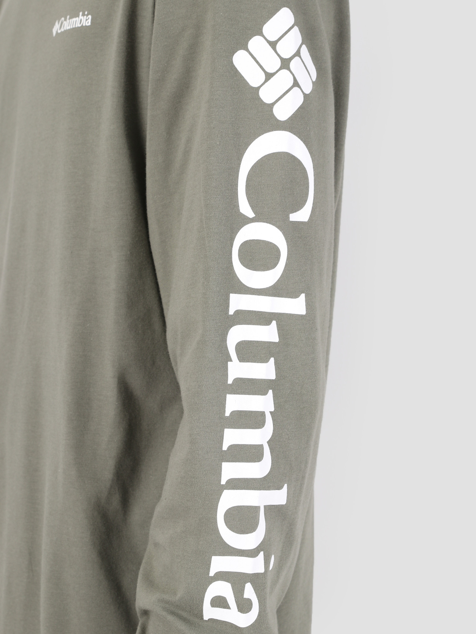 Columbia Columbia North Cascades Longsleeve Cypress White 1834021316