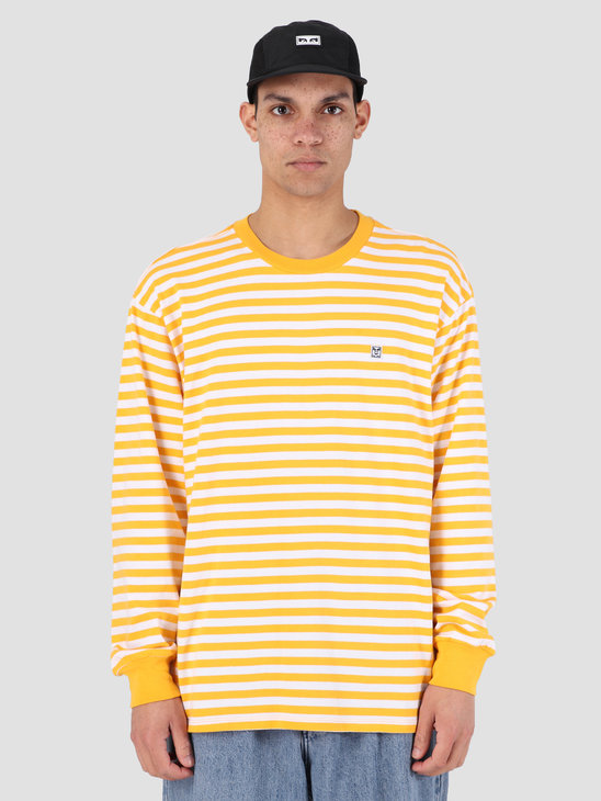 Obey 89 Icon Stripe Box T-Shirt II Longsleeve YWM 131030088