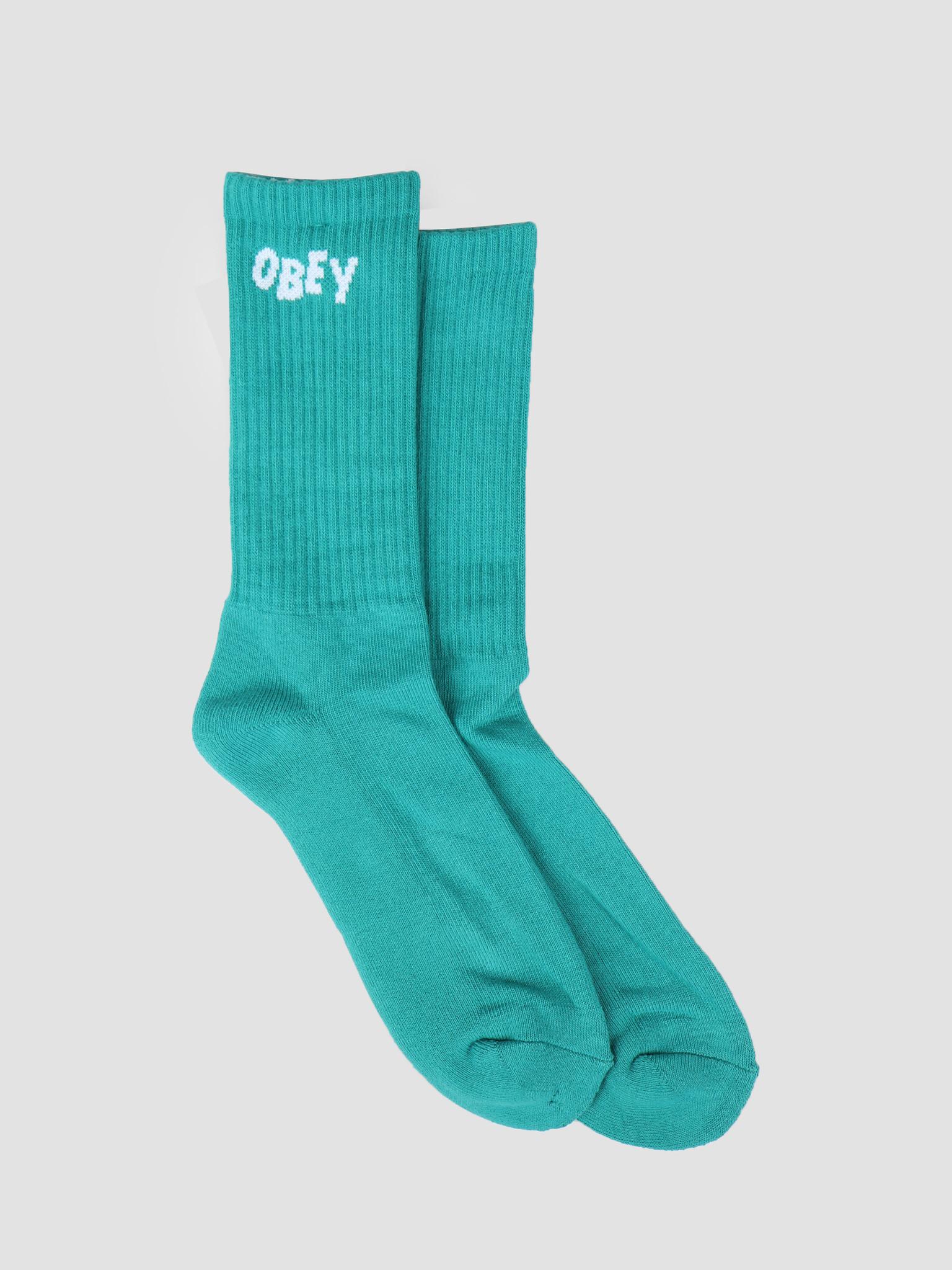 Obey Obey Obey Jumbled Socks TEA 100260089