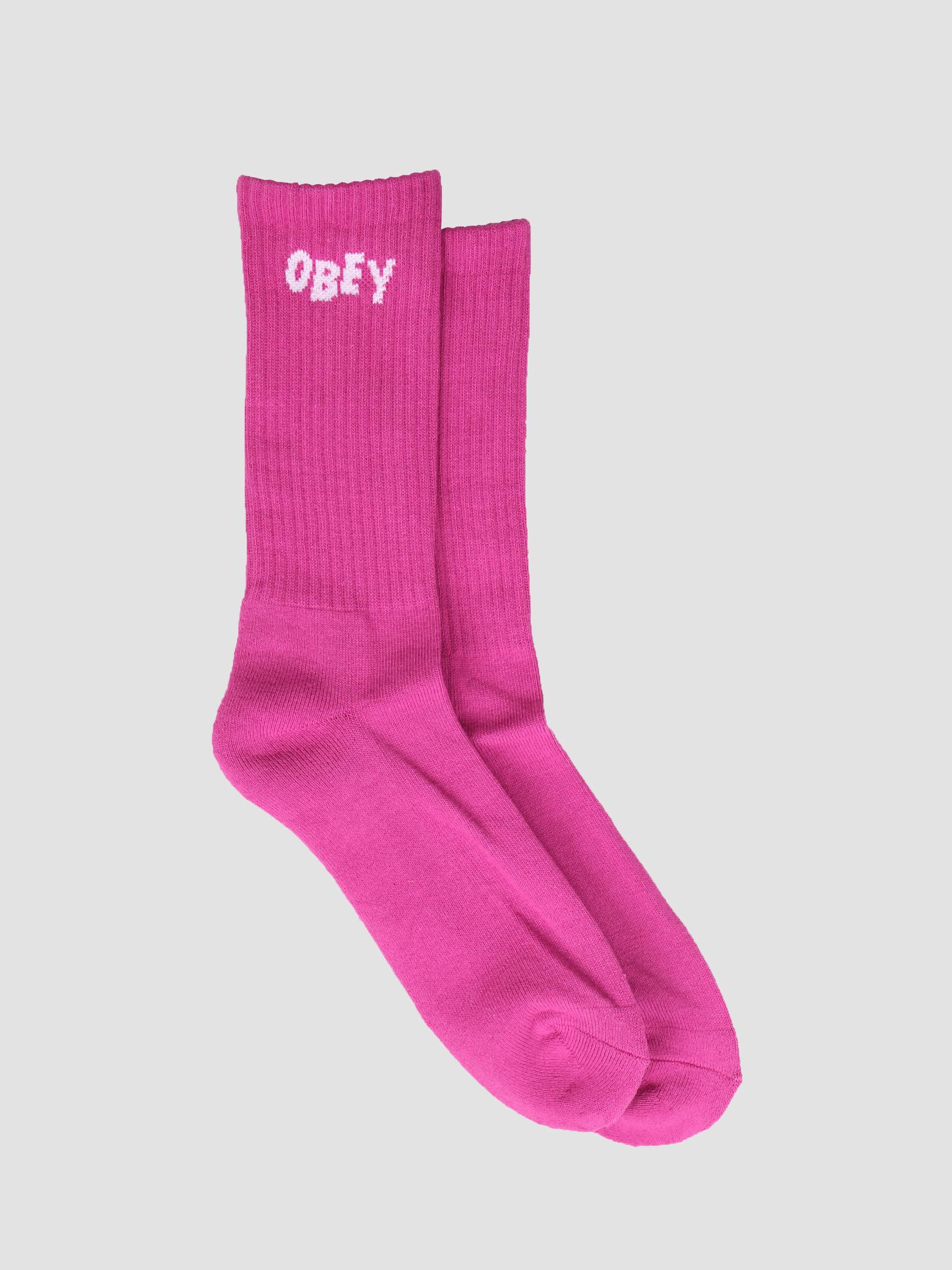 Obey Obey Obey Jumbled Socks FUS 100260089