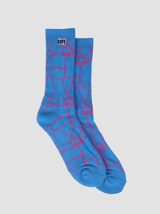 Obey Concrete Socks SKY 100260127