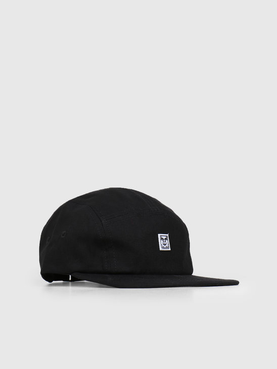 Obey 89 Icon 5 Panel Hat BLK 100490054