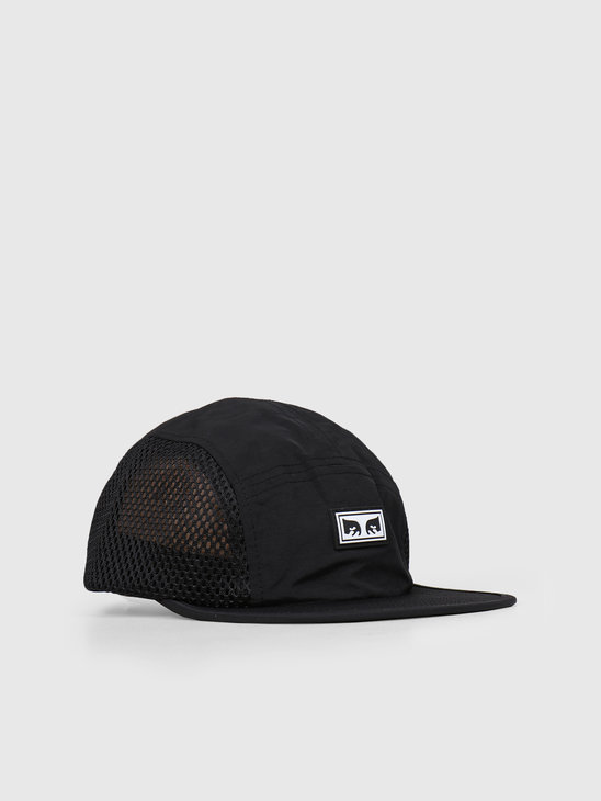 Obey Alchemy 5 Panel Hat BLK 100490053