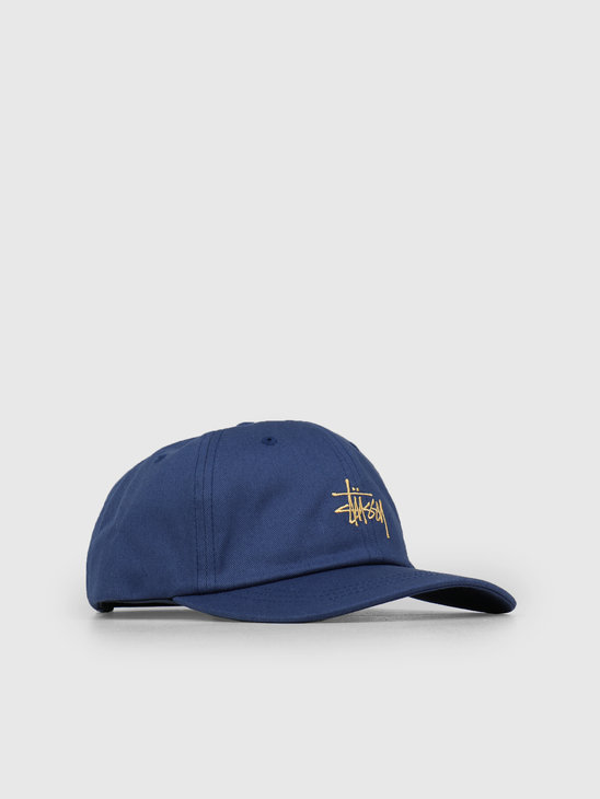 Stussy Sp19 Stock Low Pro Cap Navy 0806