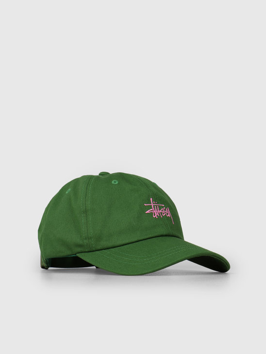Stussy Sp19 Stock Low Pro Cap Green 0401