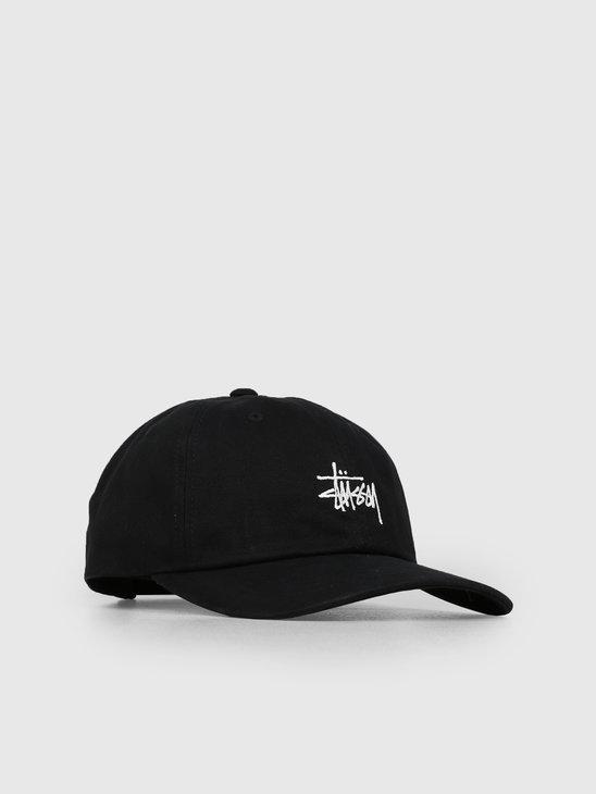 Stussy Sp19 Stock Low Pro Cap Black 0001