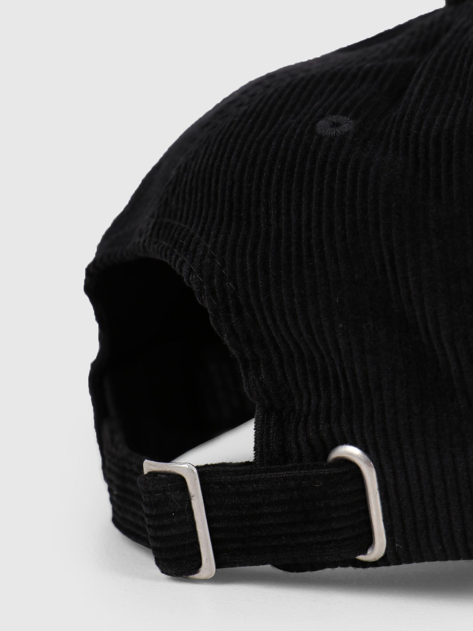 Stussy Stussy Corduroy Low Pro Cap Black 0001