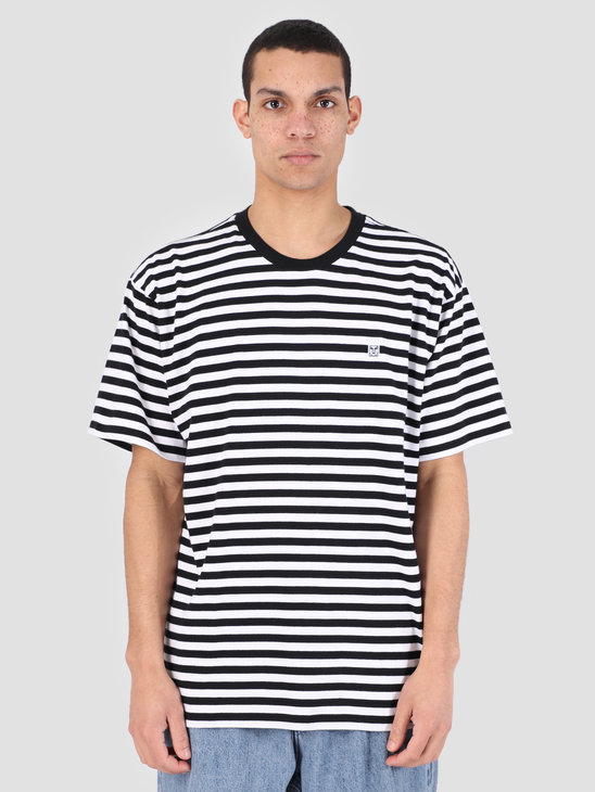 Obey 89 Icon Stripe Box T-Shirt II BKM 131080242