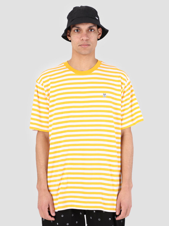 Obey 89 Icon Stripe Box T-Shirt II YWM 131080242