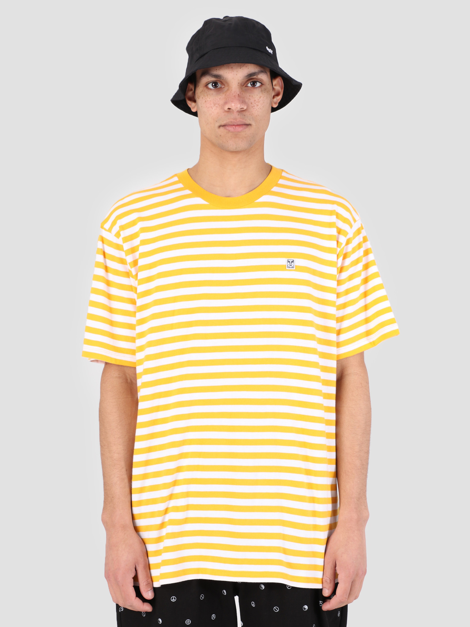 Obey Obey 89 Icon Stripe Box T-Shirt II YWM 131080242
