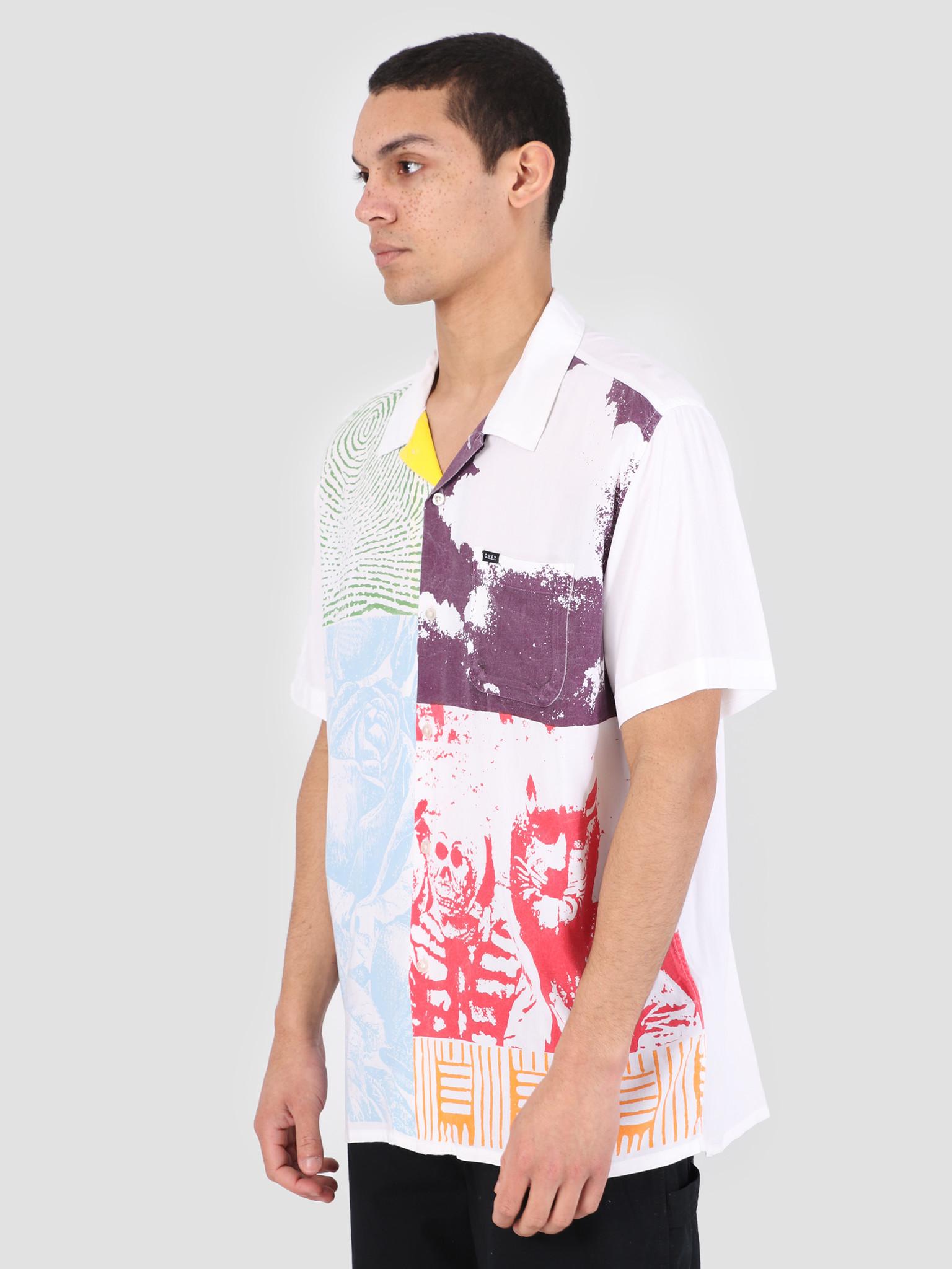 Obey Obey Hitter Woven T-Shirt WTM 181210250