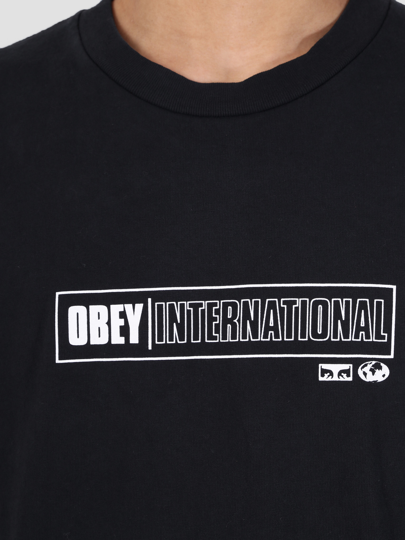 Obey Obey Obey Intl. Cities Classic Box T-Shirt OBK 166911893