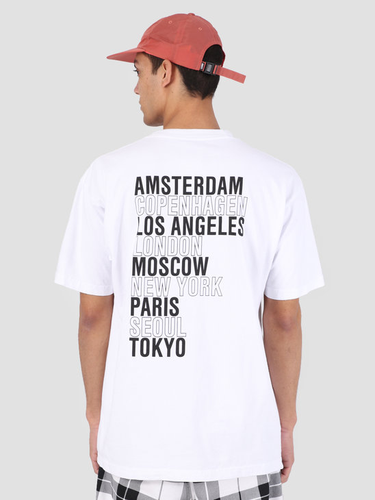 Obey Obey Intl. Cities Classic Box T-Shirt WHT 166911893