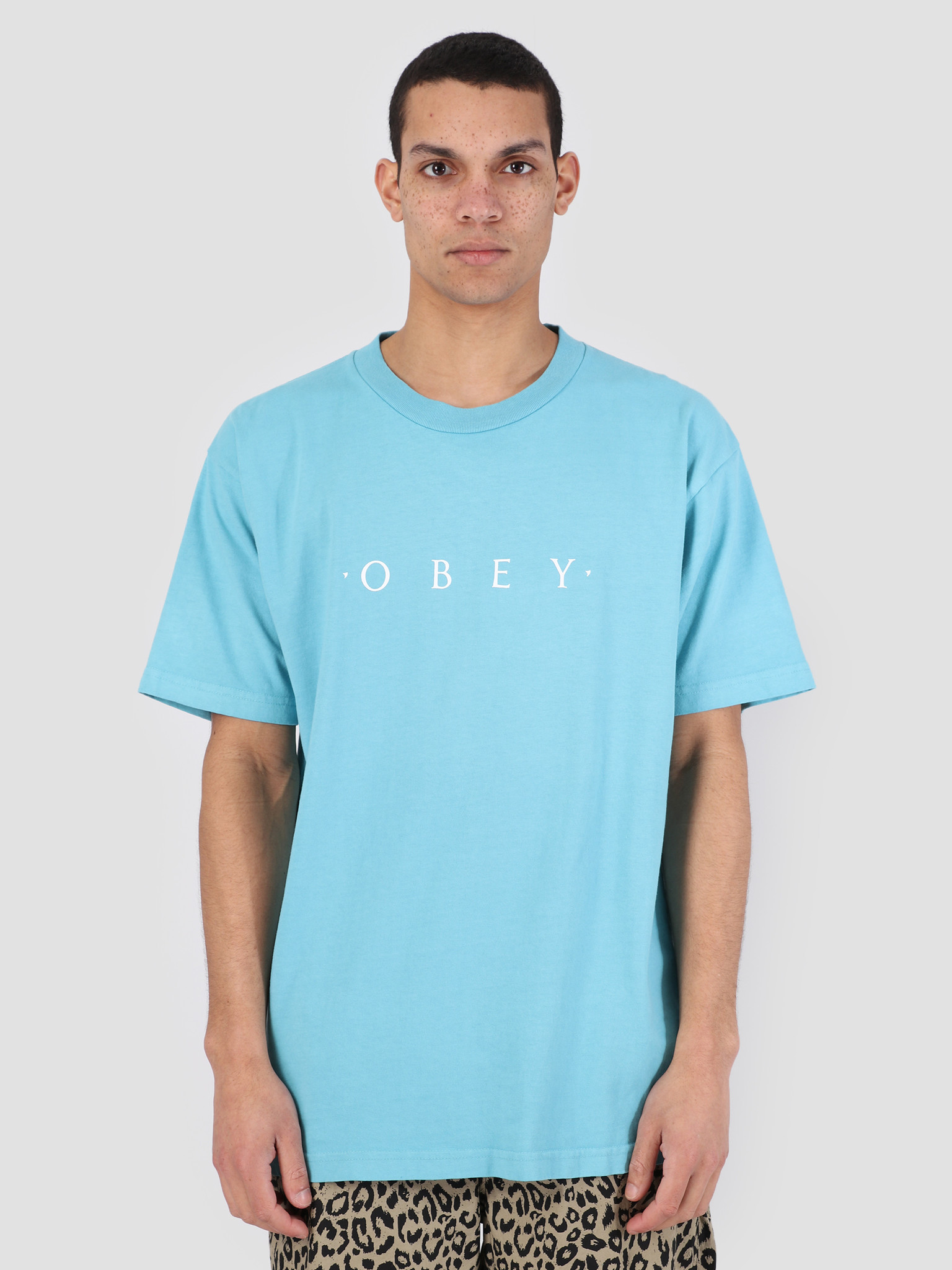 Obey Obey Novel Obey Classic Box T-Shirts POL 166911578