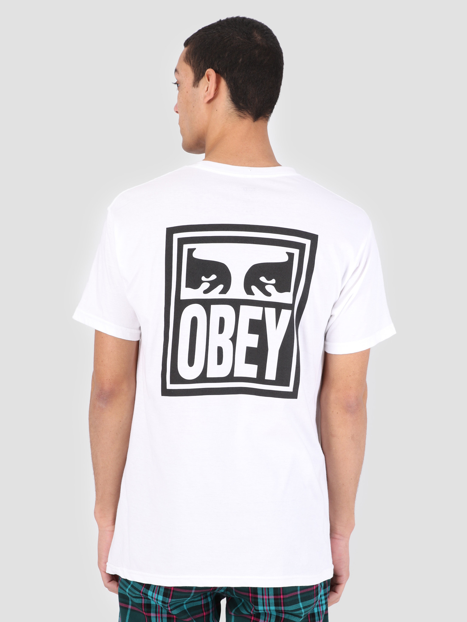 Obey Obey Obey Eyes Icon T-Shirt WHT 165361874