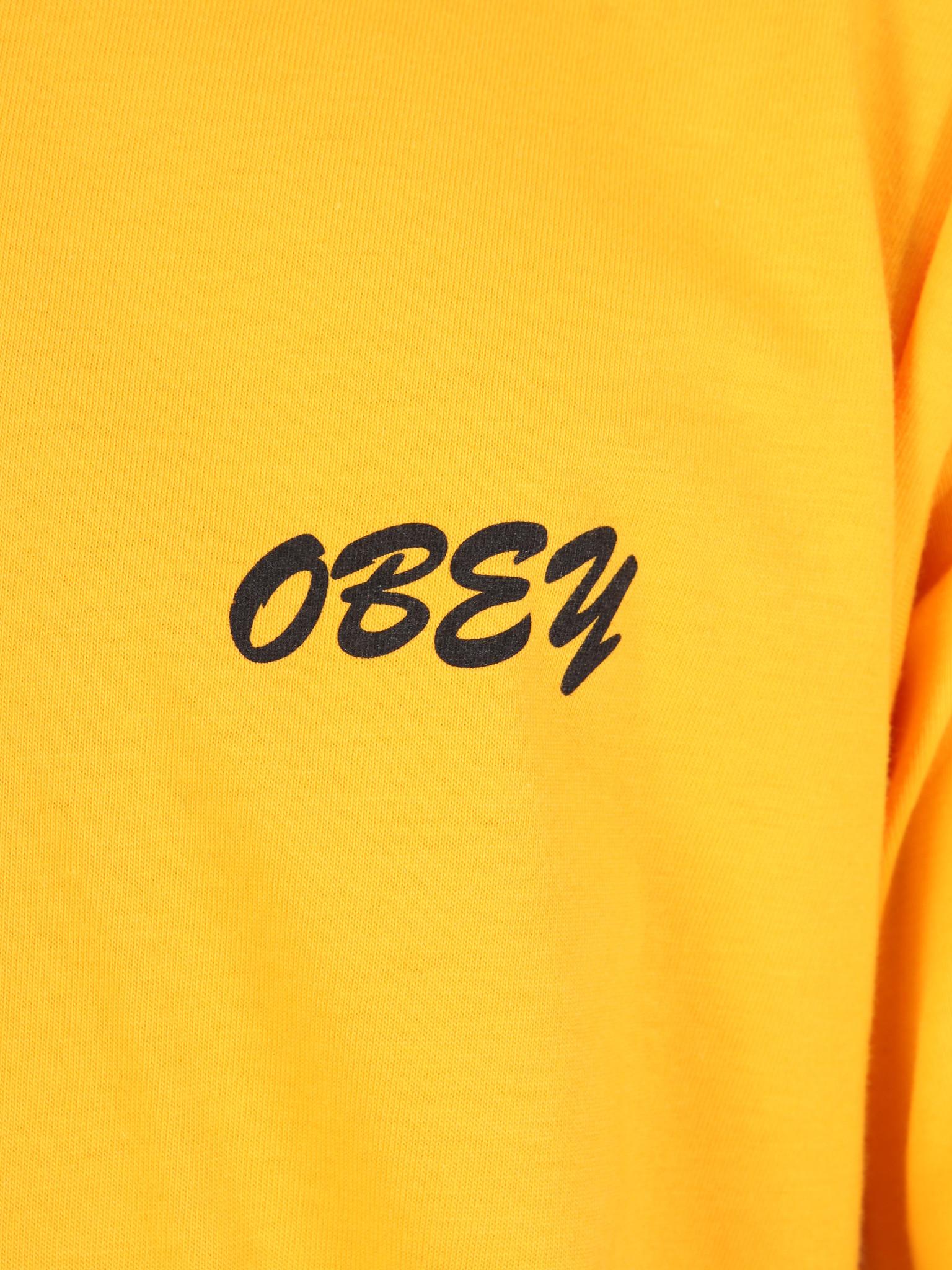 Obey Obey Obey Soundsystem T-Shirt GLD 163081914
