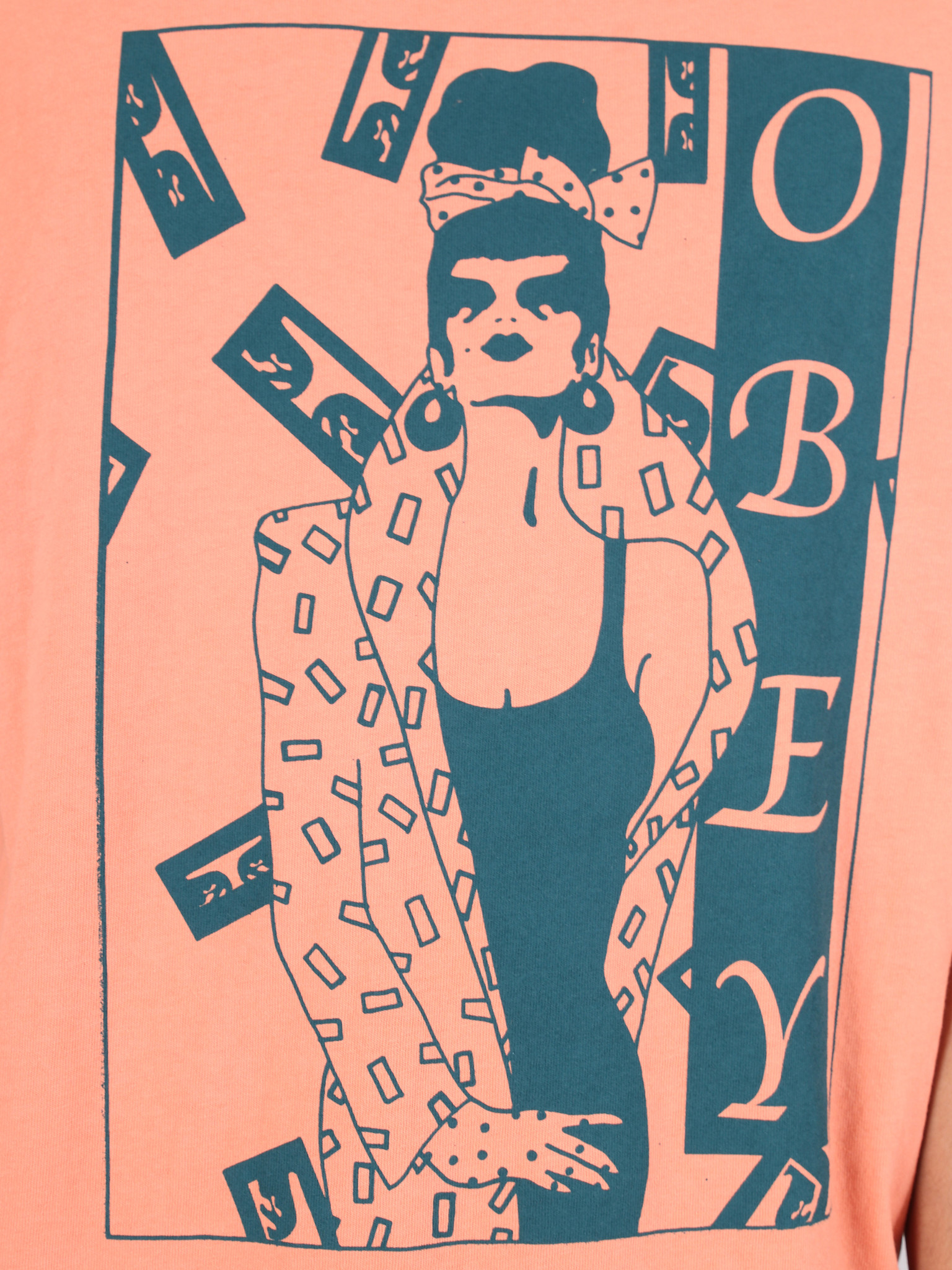 Obey Obey Surrounded T-Shirt TER 166721903