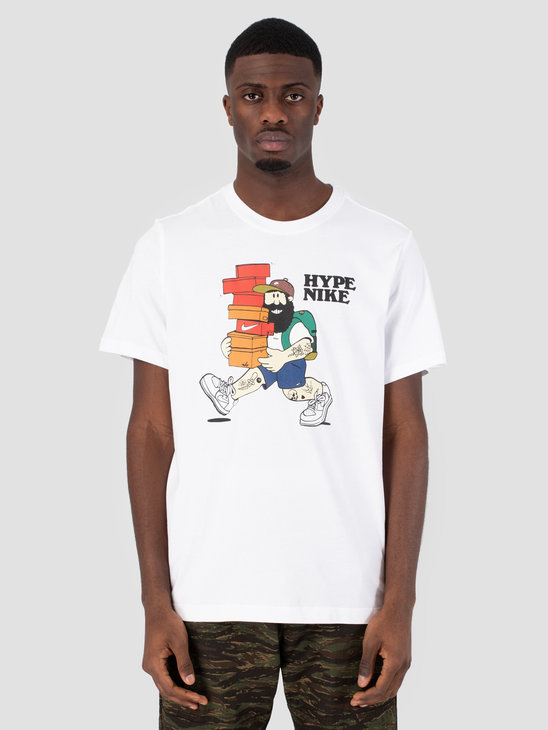 Nike Sportswear T-Shirt White Ar5075-100