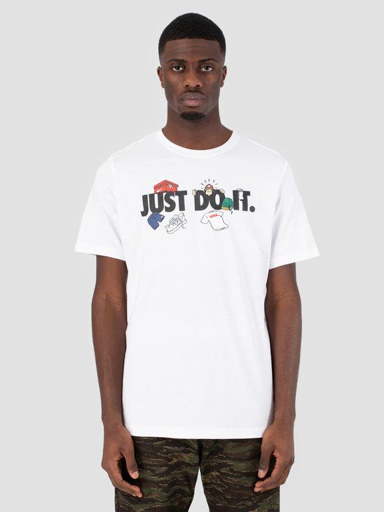 Nike Sportswear T-Shirt White Ar5077-100