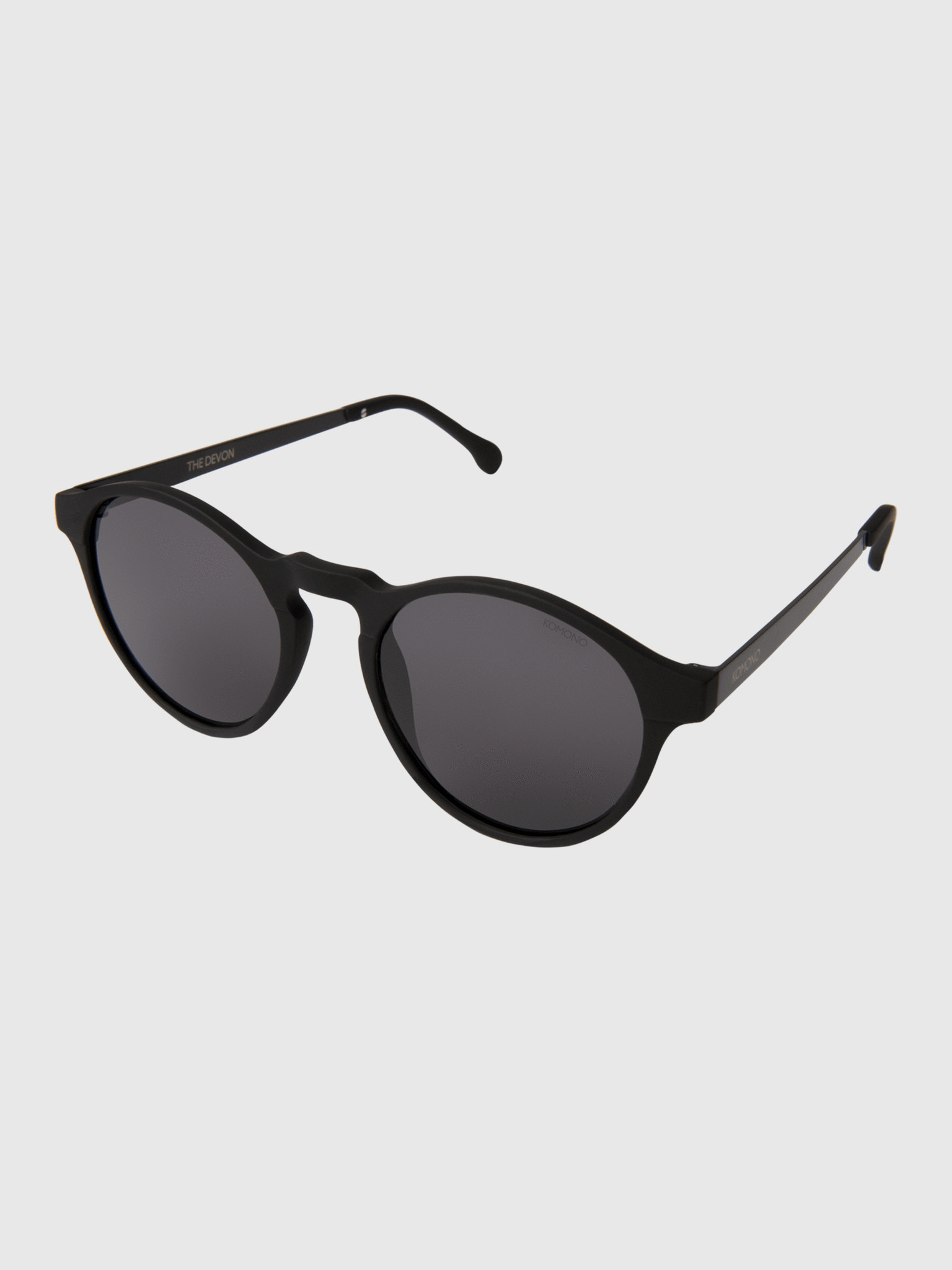 Komono Komono Devon Metal Black Sunglasses KOM-S3213