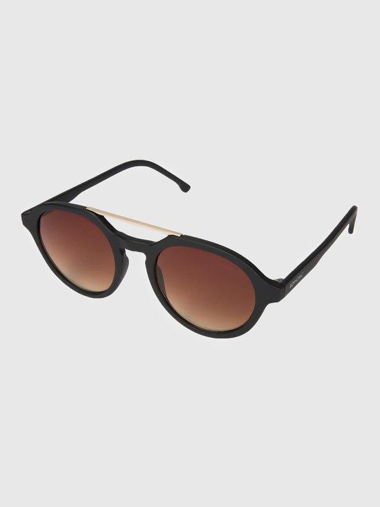 Komono Harper Sunglasses Black Rubber Kom-S3153