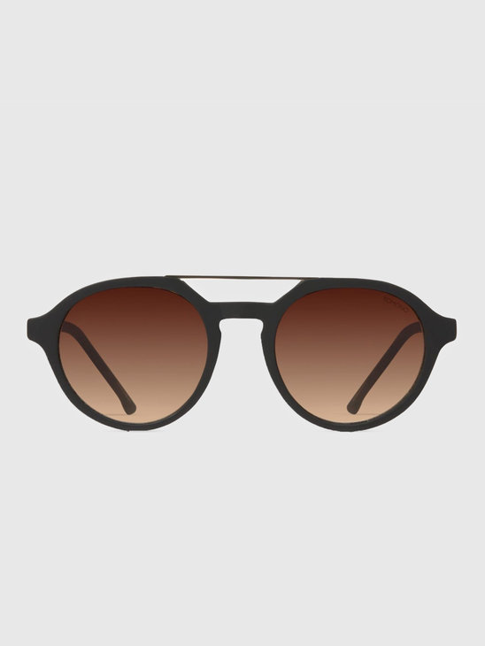 Komono Harper Sunglasses Black Rubber Kom-S3153