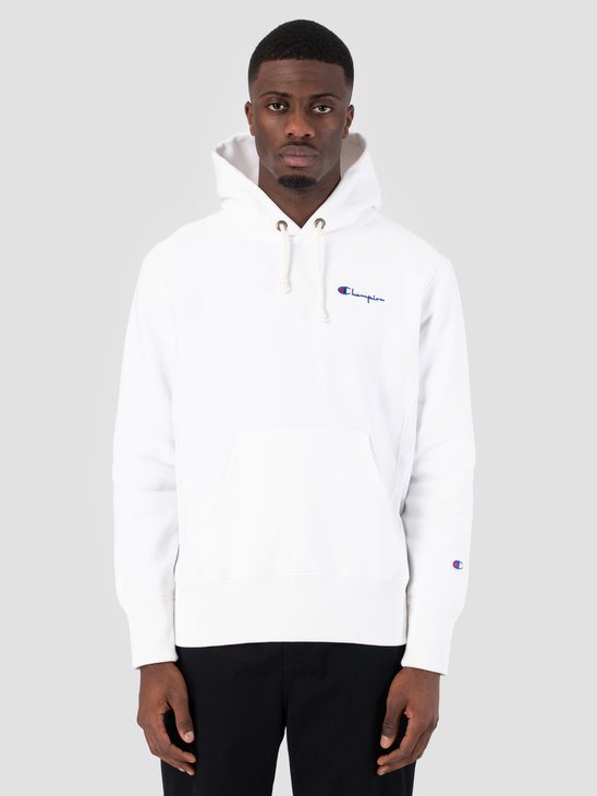 Champion Hooded Sweatshirt WHT 212967