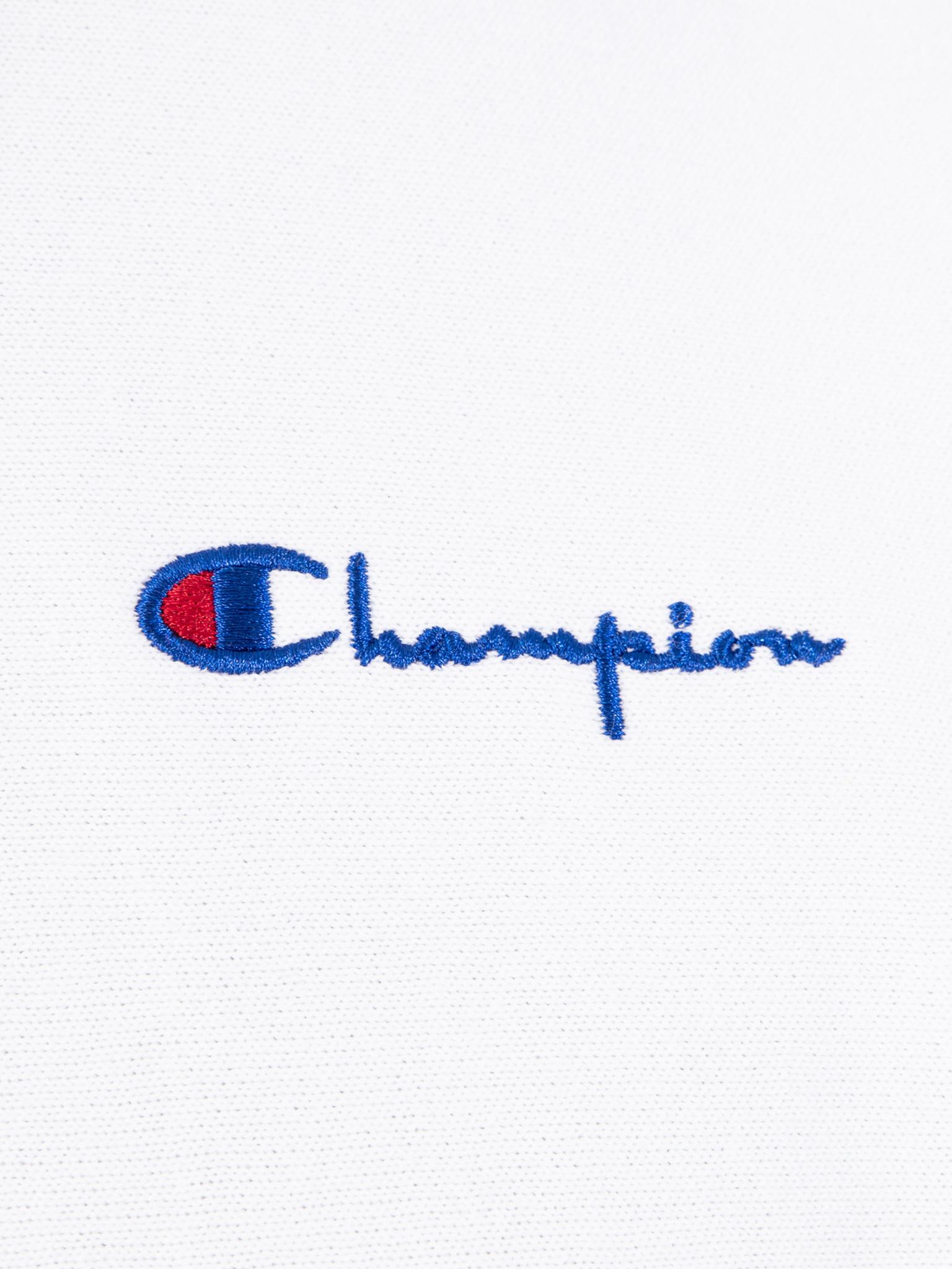Champion Champion Hooded Sweatshirt WHT 212967
