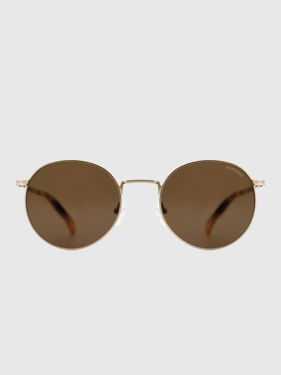 Komono Taylor Sunglasses White Gold KOM-W2451