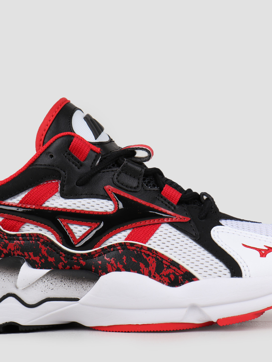 Mizuno Mizuno Wave Rider 1 White Black High Risk Red D1GA192509