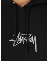 Stussy Stussy Stock Logo App. Hood Black 0001