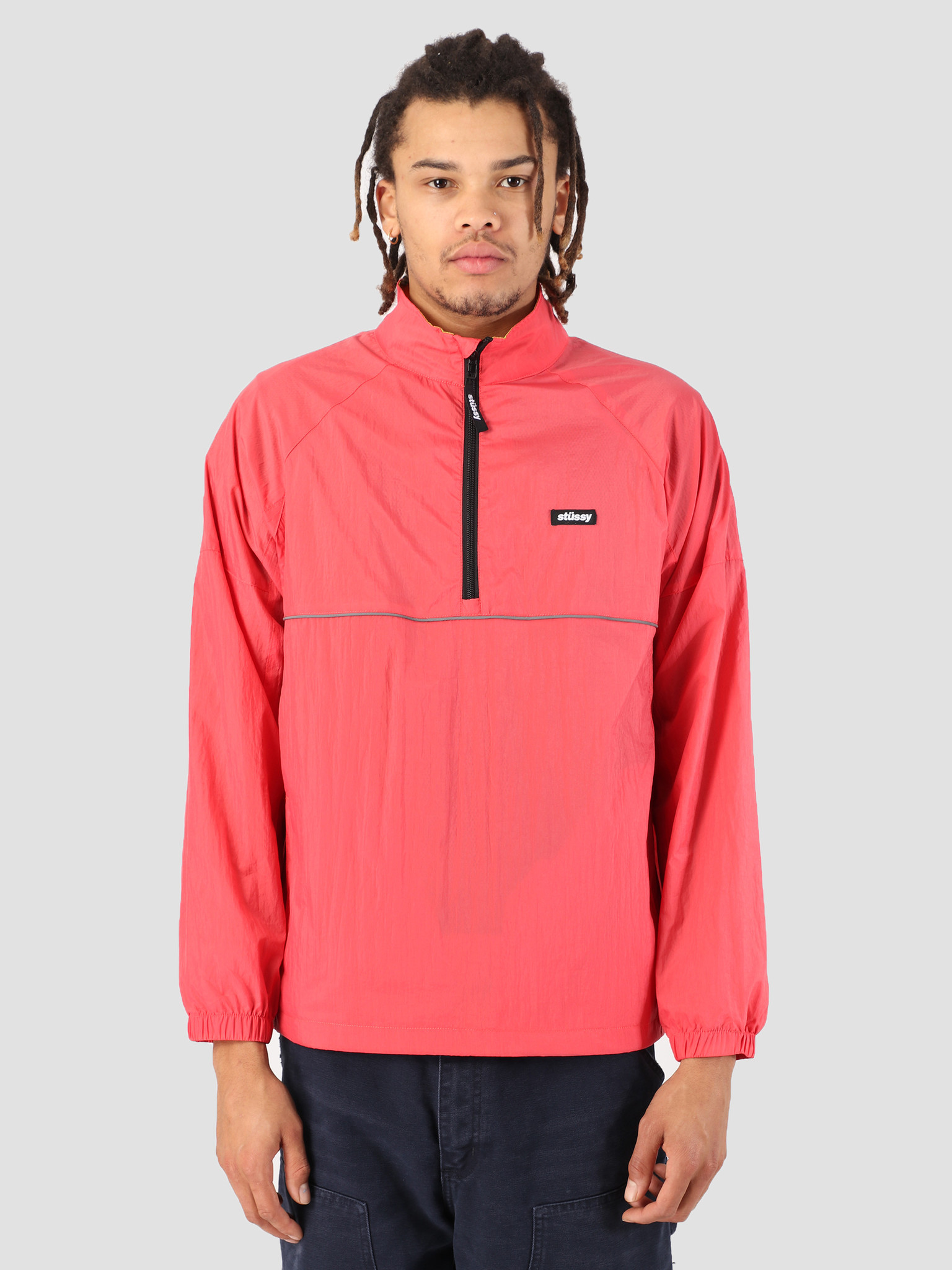 Stussy Stussy Sport Pullover Red 0601