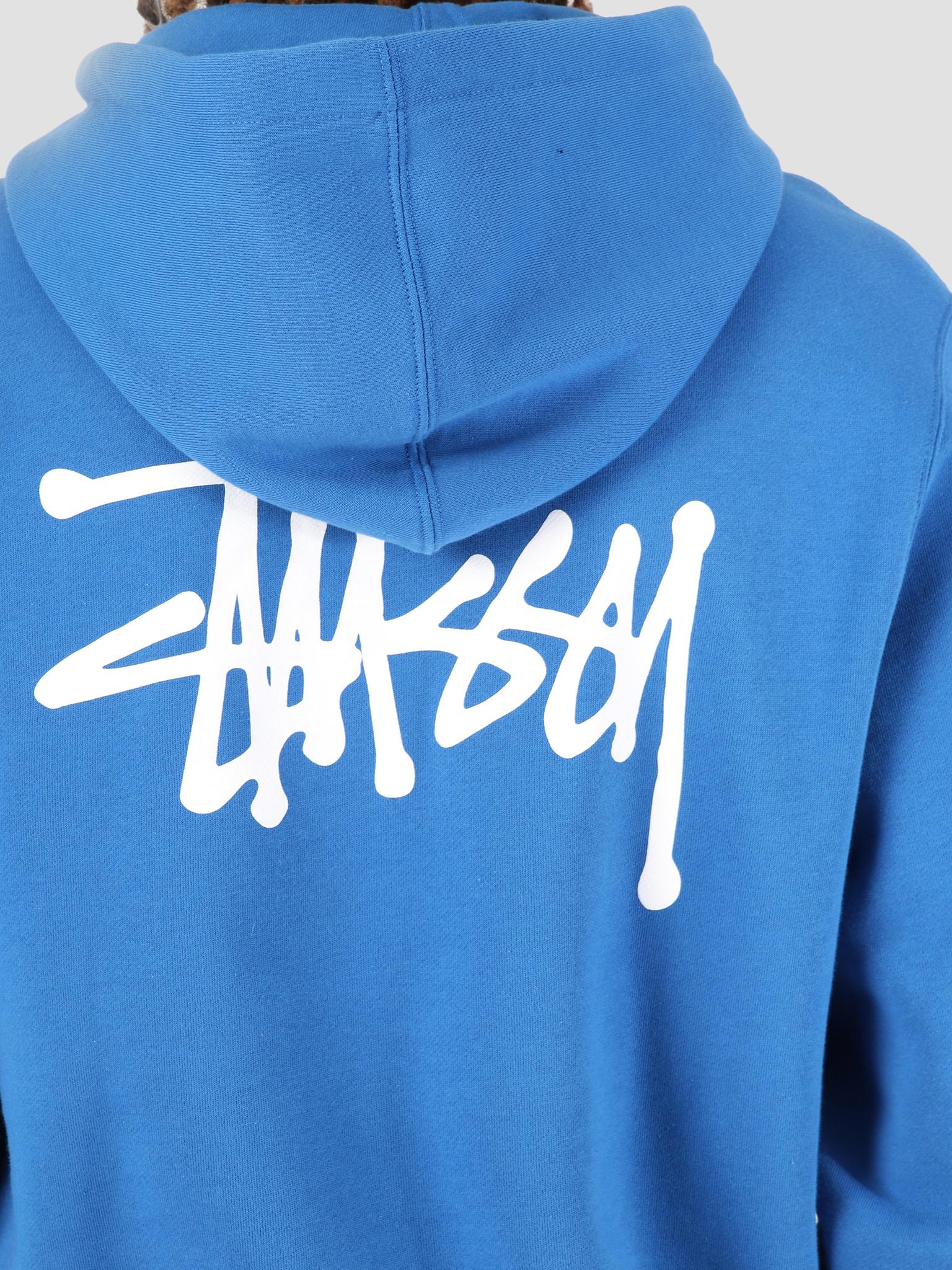 Stussy Stussy Basic Stussy Hood Blue 0801