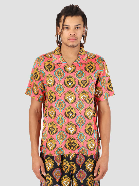 Stussy Shield Shirt Peach 0609
