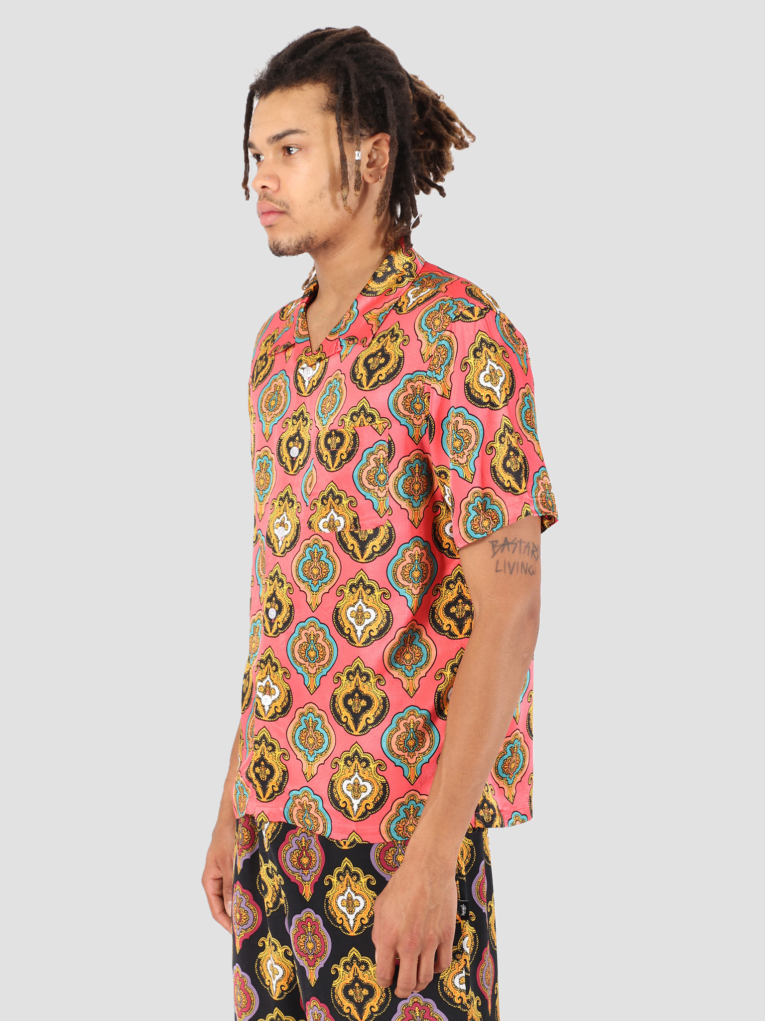 Stussy Stussy Shield Shirt Peach 0609