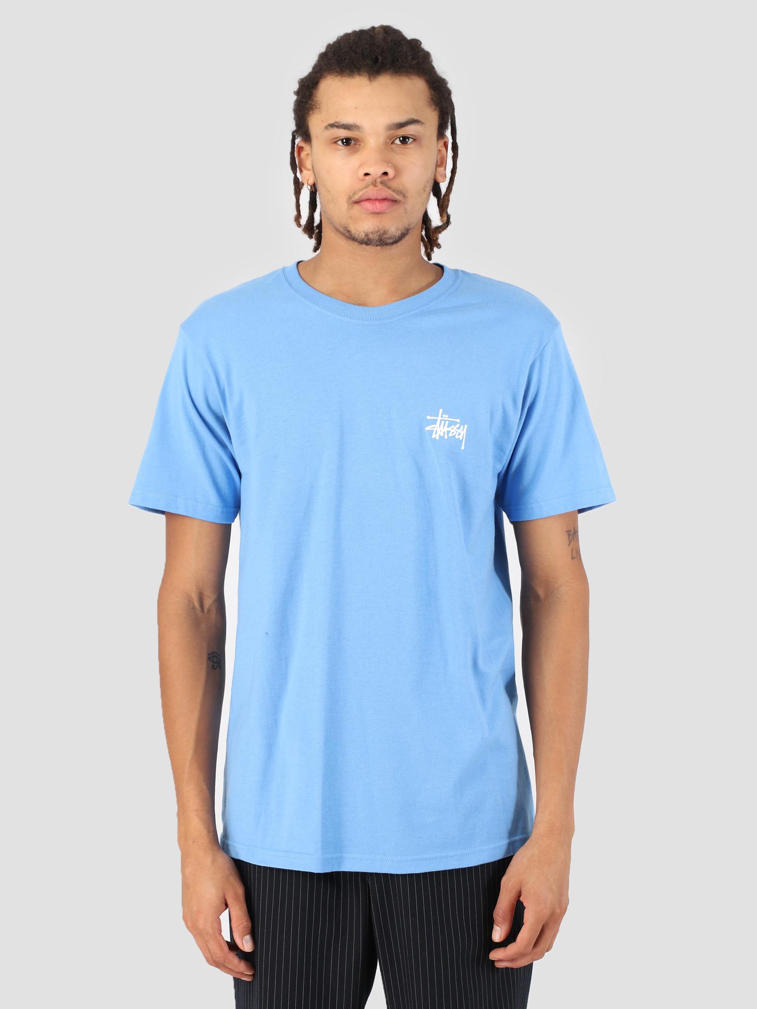 Stussy Stussy Basic Stussy T-Shirt Blue 0801