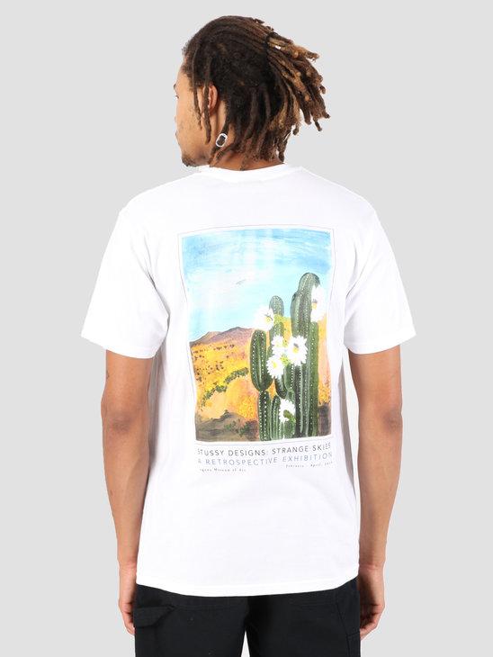 Stussy Cactus Sky T-Shirt White 1201