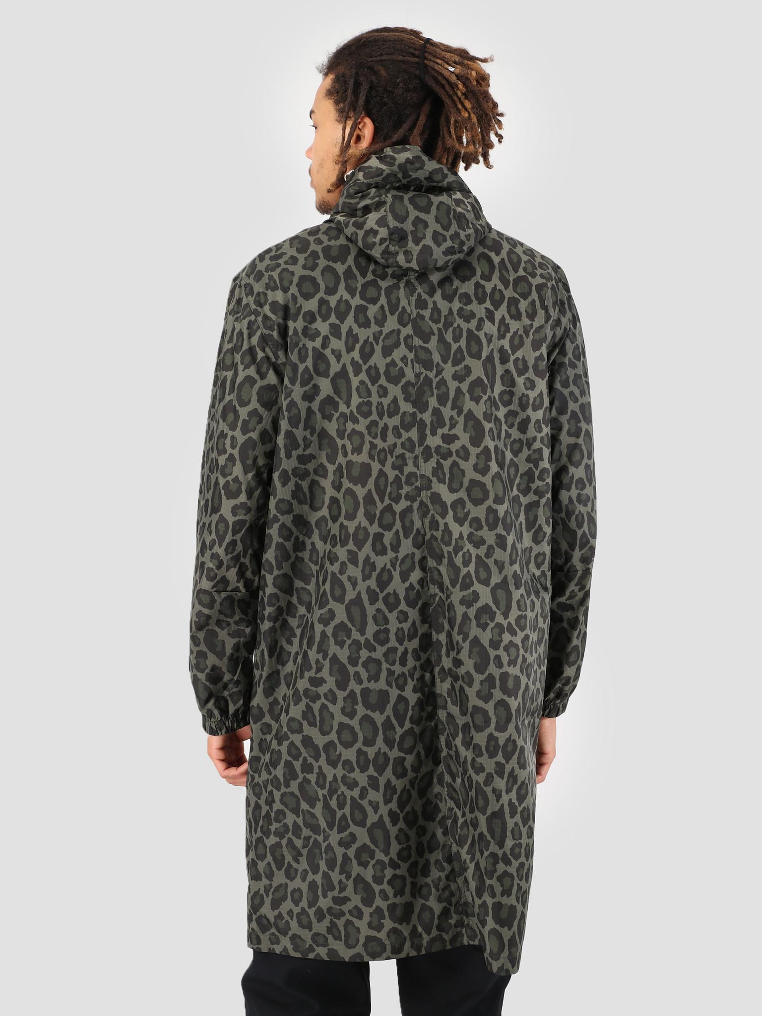 5fa41dab2515 Stussy Ripstop Parka Leopard 923 | FRESHCOTTON