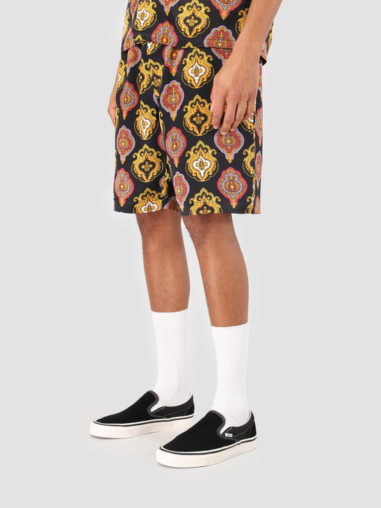 Stussy Shield Short Black 0001
