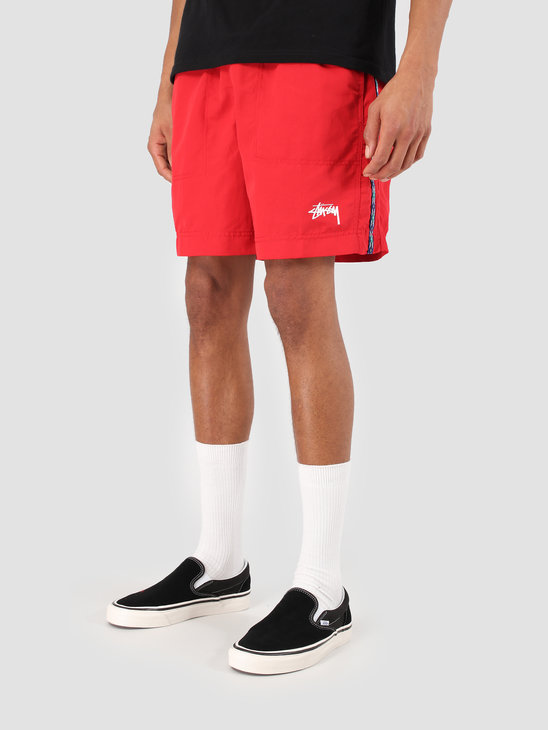 Stussy Taping Nylon Short Red 0601