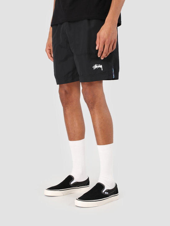 Stussy Taping Nylon Short Black 0001